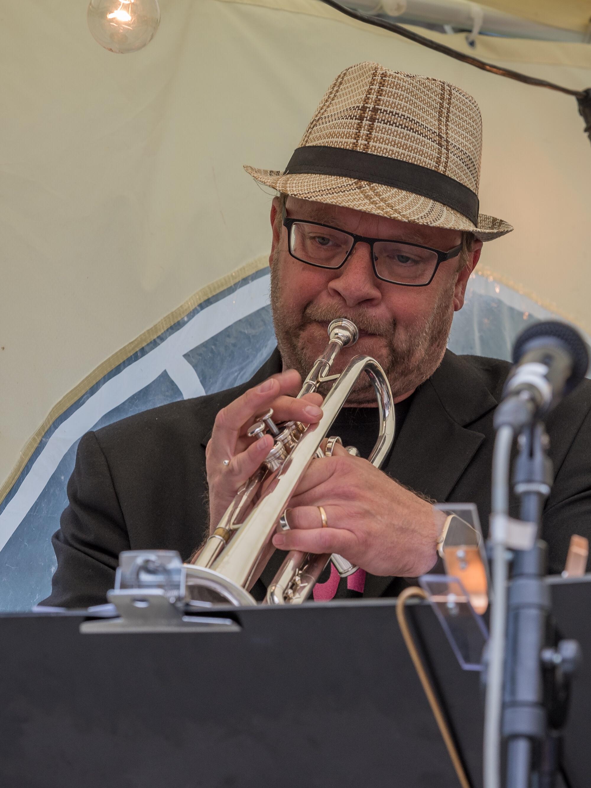 Paul Brorsson, Trumpet.