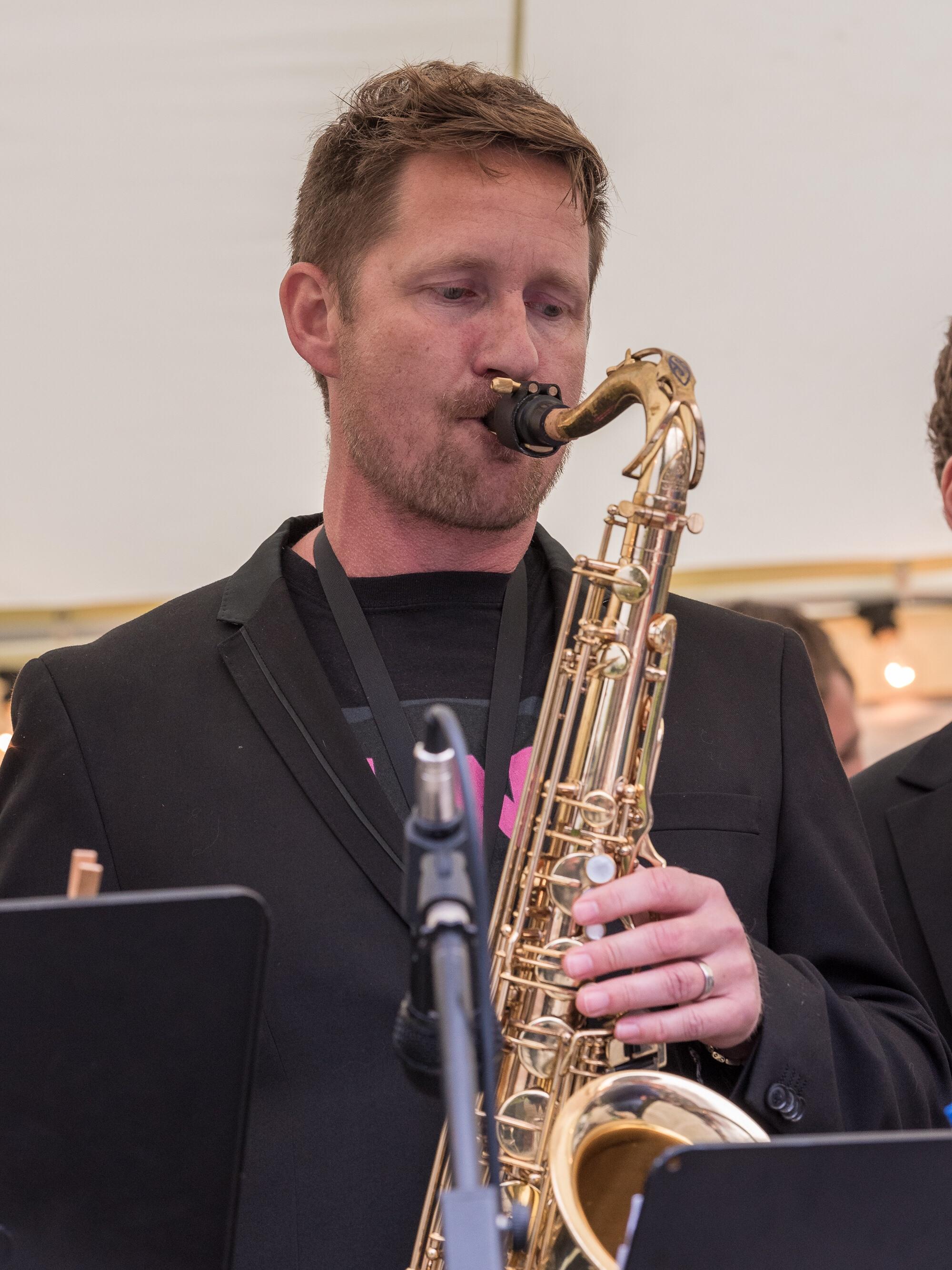 Mathias Lindborg, TenorSaxofon.